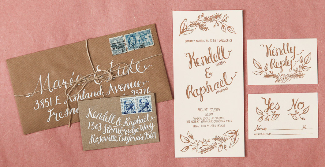 Custom-Hand-drawn-wedding-stationery-by-CuriousMe-Design—Pinar-2